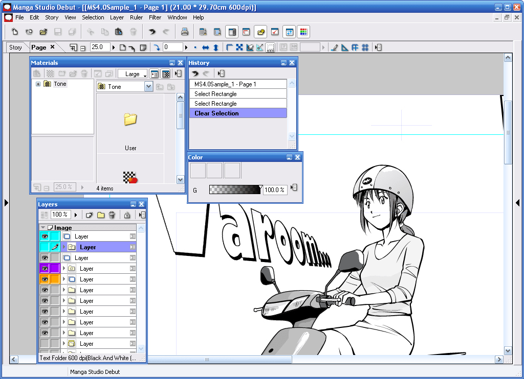 Manga studio debut t l charger for Logiciel gratuit de dessin