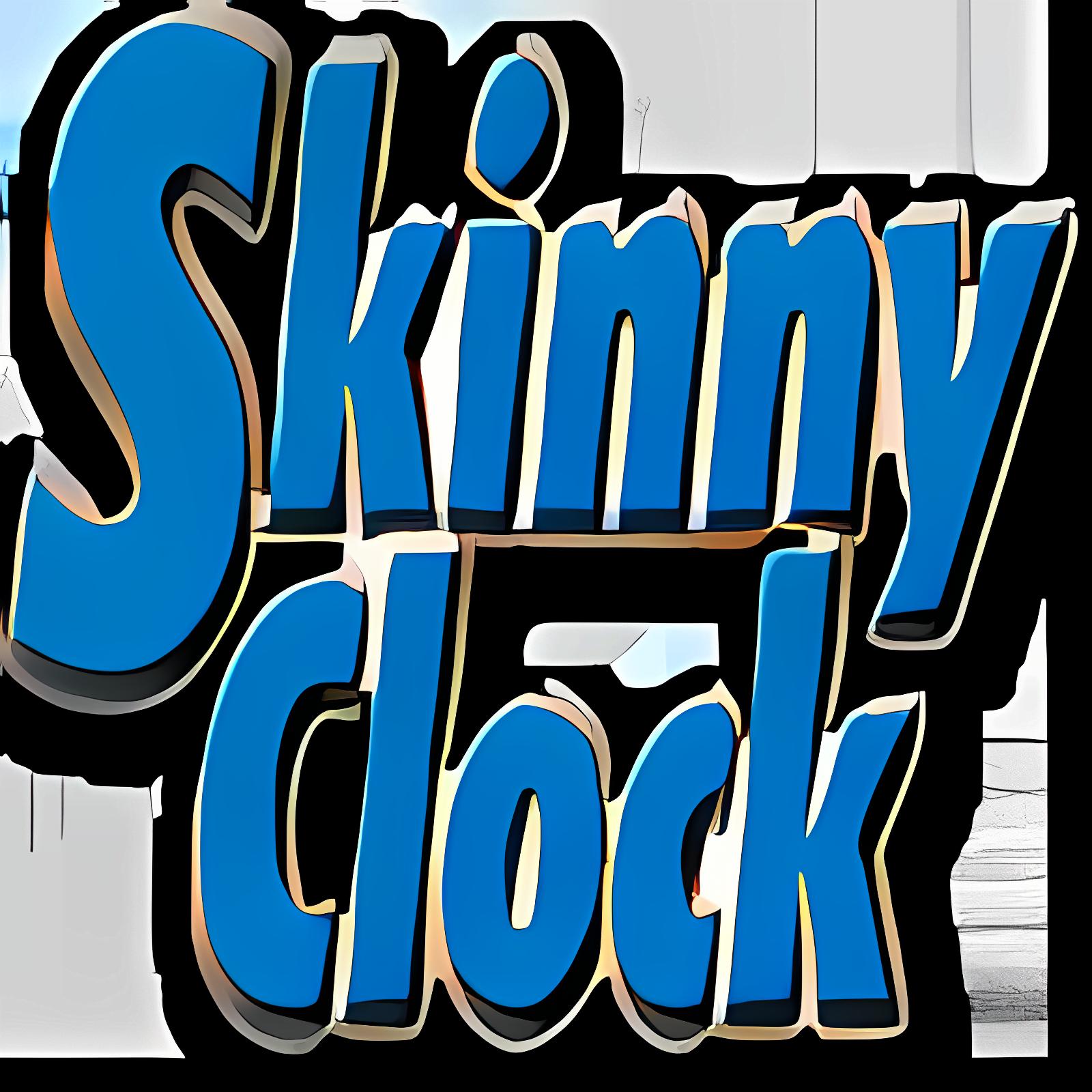 Skinny Clock
