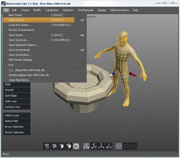 Silo: Potente y versátil modelador poligonal 3D