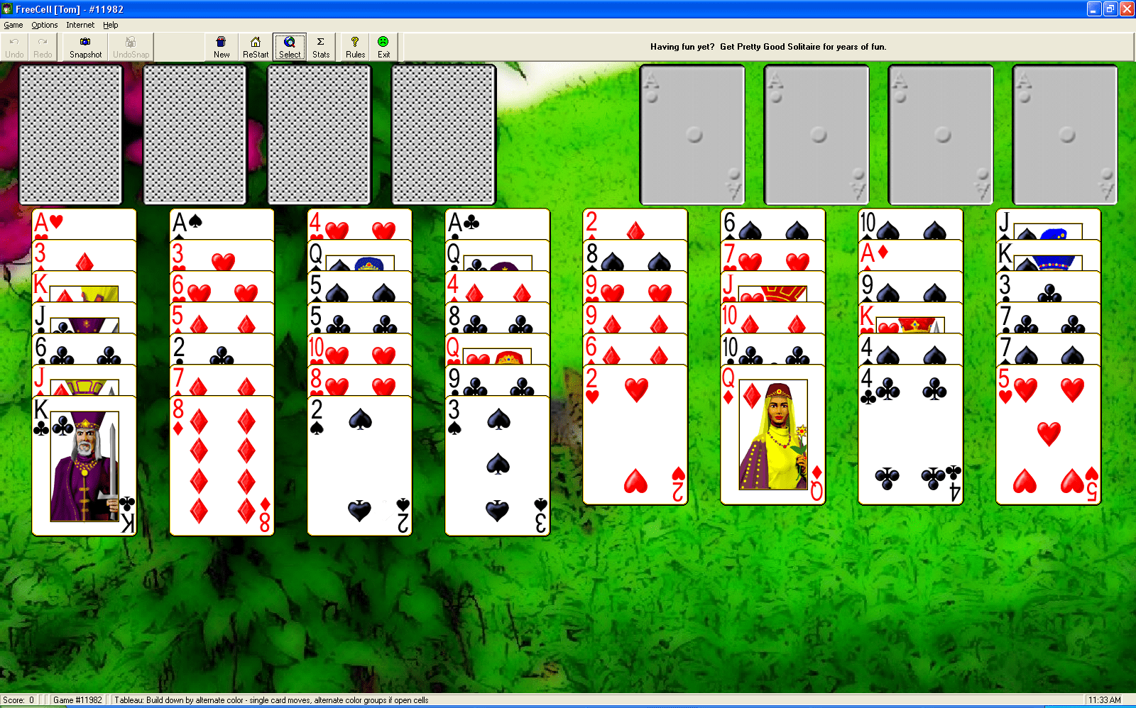 Goodsol Free Solitaire