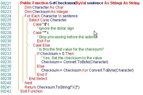 VS.NETcodePrint 2005