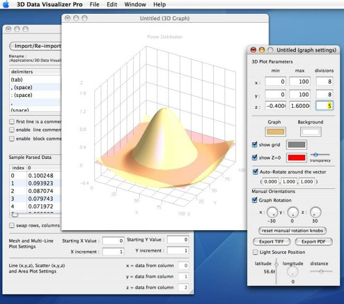 3D Data Visualizer