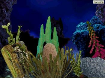 Aquatica Waterworlds Screen Saver