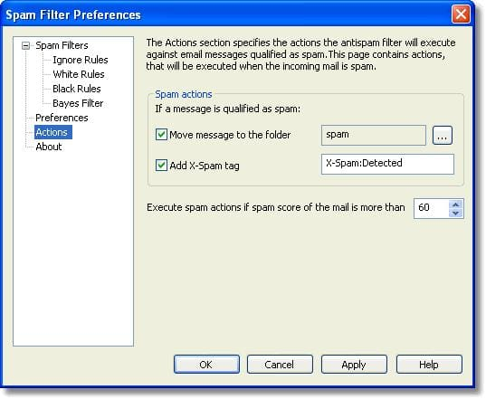 Alchemy Spam Filter for Outlook Express
