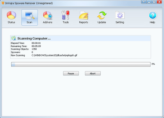 ImVajra Spyware Remover
