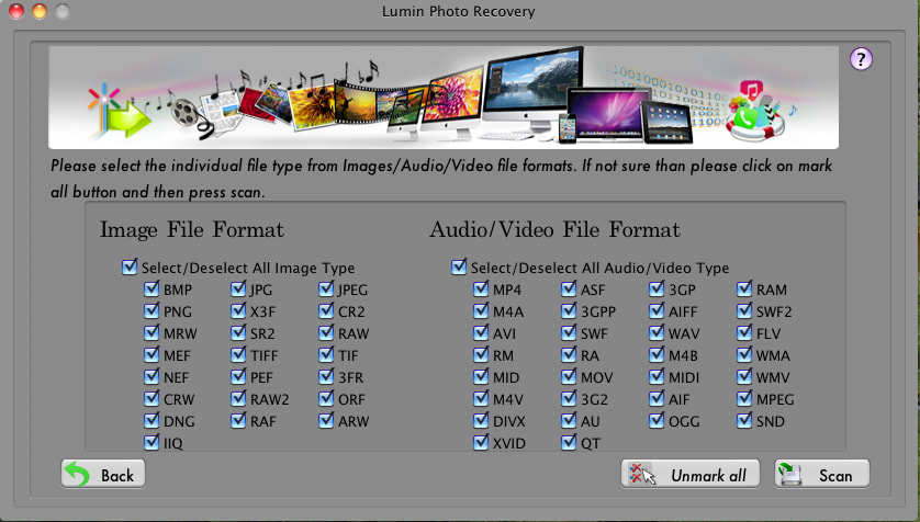 Lumin Photo Recovery for Mac