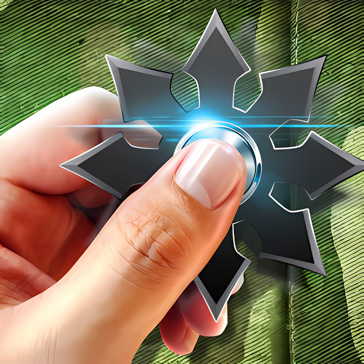 Weapons fidget hand spinner 1.0