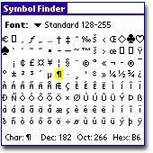 SymbolFinder