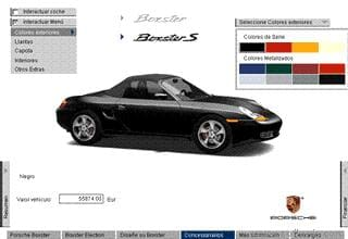 Porsche Boxster - Interactive Screensaver