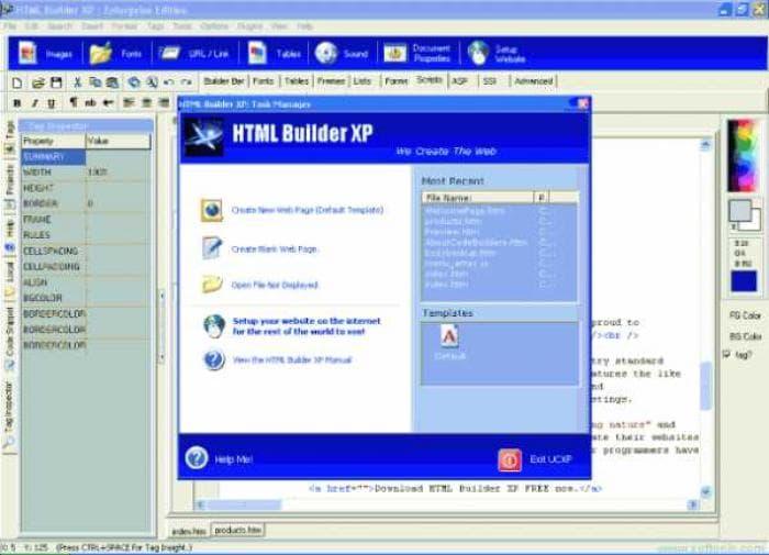 HTML Builder XP