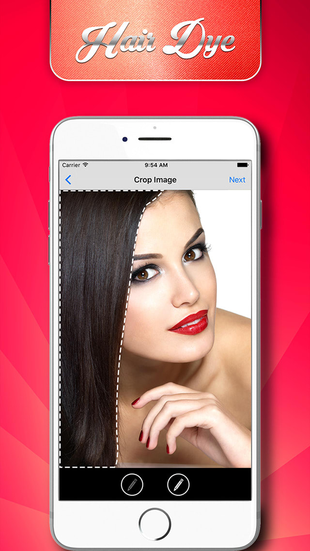 Hair Dyes - Magic Salon, Hair Color Booth and nice pic editor for your stylish looks
