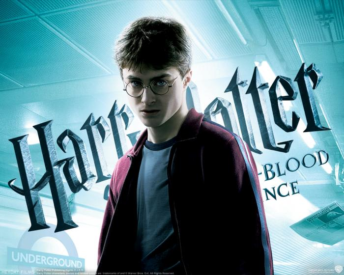 Harry Potter und der Halbblutprinz Wallpaper: Harry