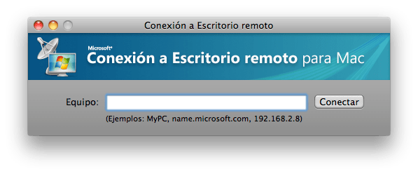 Microsoft Remote Desktop Connection