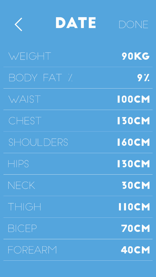 PhotoFit - Visual Progress Picture and Measurement Tracking