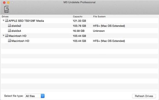 M3 Mac Undelete