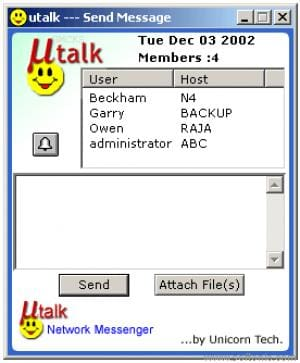 UTalk Network Messenger