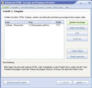Advanced HTML Encrypt and Password Protect