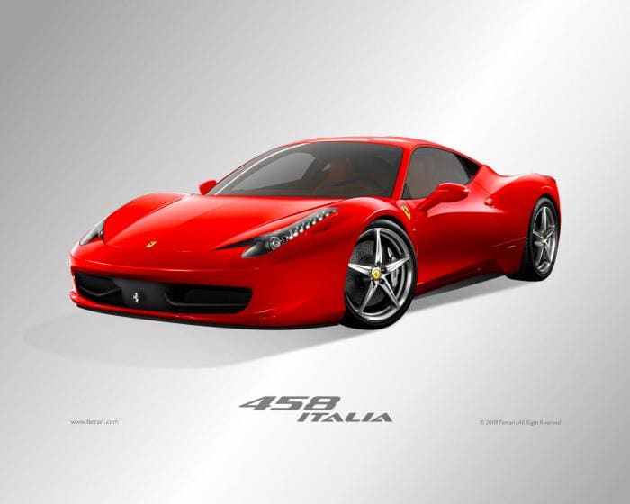 Ferrari 458 Italia Screensaver