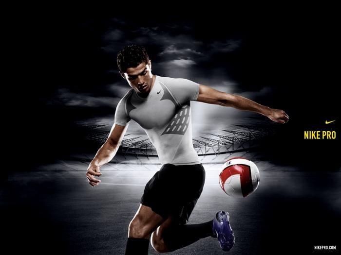 Cristiano Ronaldo Nike Pro Wallpaper