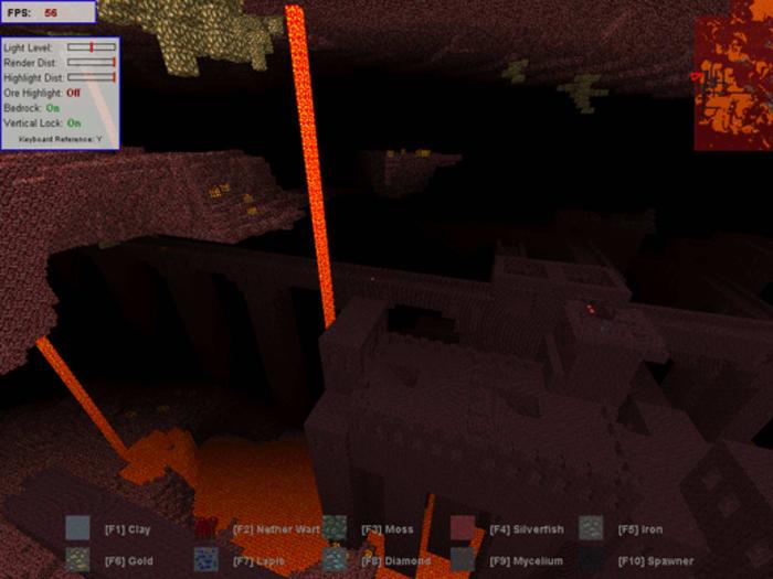 Minecraft X-Ray
