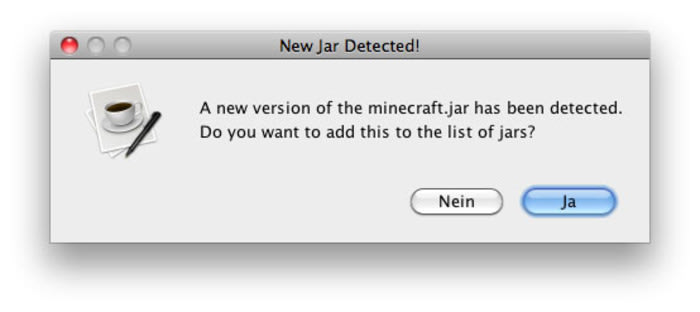 Minecraft Jar Switcher