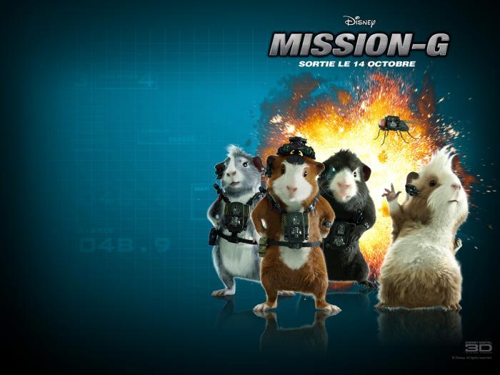 Mission G Fond d'écran