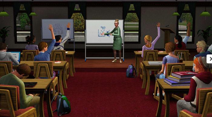 The Sims 3: Vita Universitaria