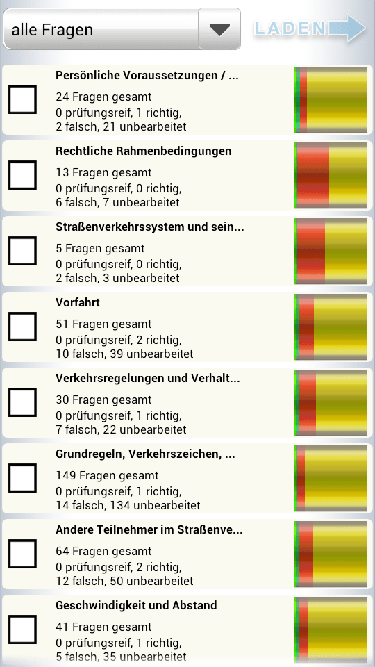 fragebogen für führerschein