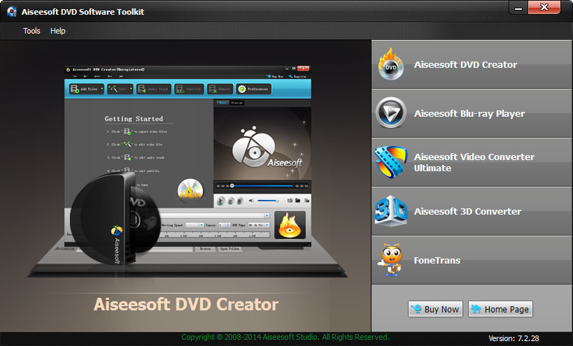 Aiseesoft DVD Software Toolkit