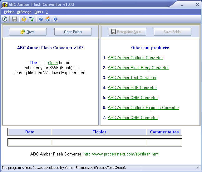 ABC Amber Flash Converter