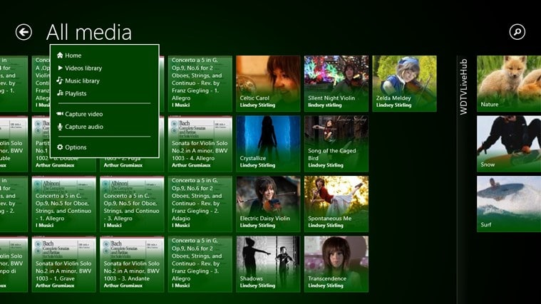 Multimedia 8 for Windows 10