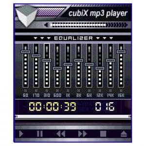 CubiX MP3 Player