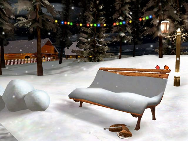 3D Christmas Eve Screensaver