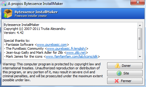 Bytessence Install Maker