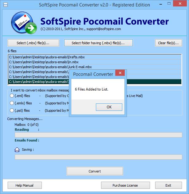 Pocomail Converter