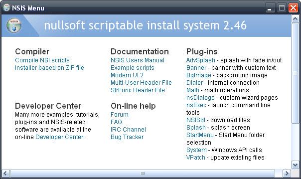 Nullsoft Scriptable Install System Portable