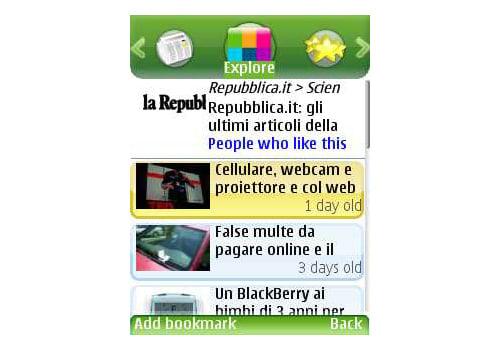 Mobispine RSS News Reader