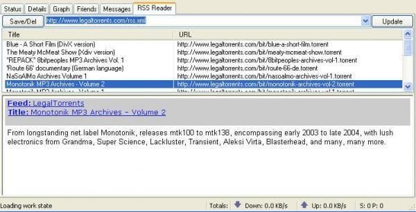 Rufus BitTorrent Client