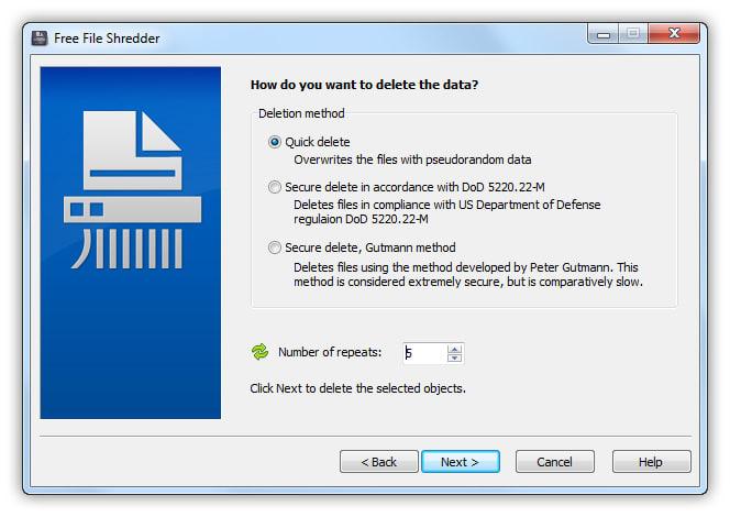 Free File Shredder