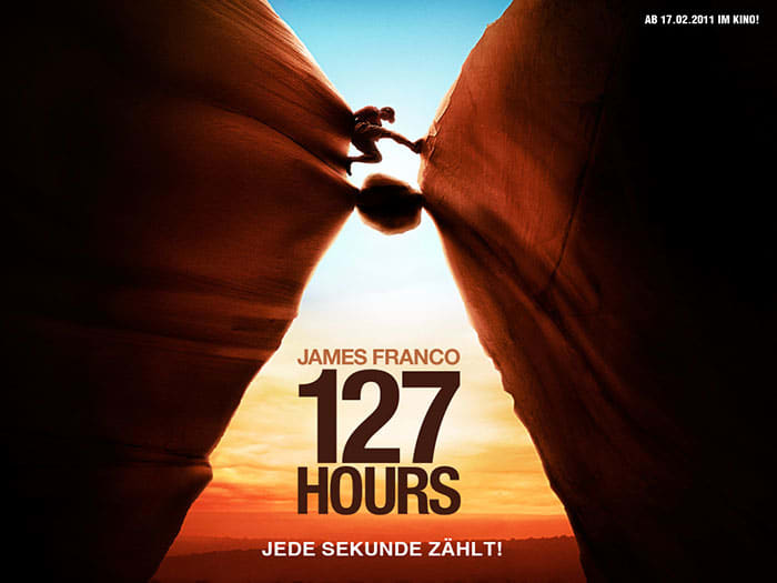 Tapeta 127 godzin