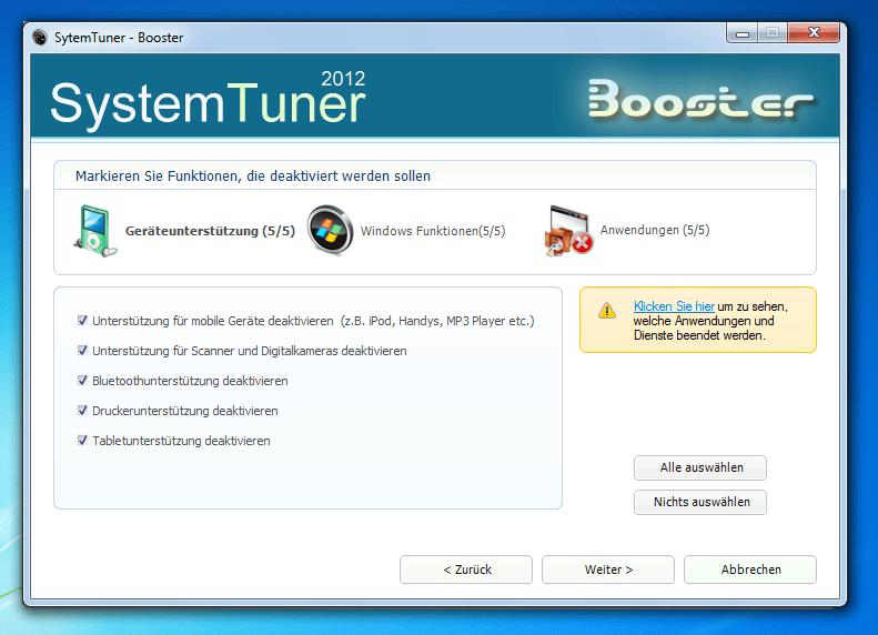 SystemTuner