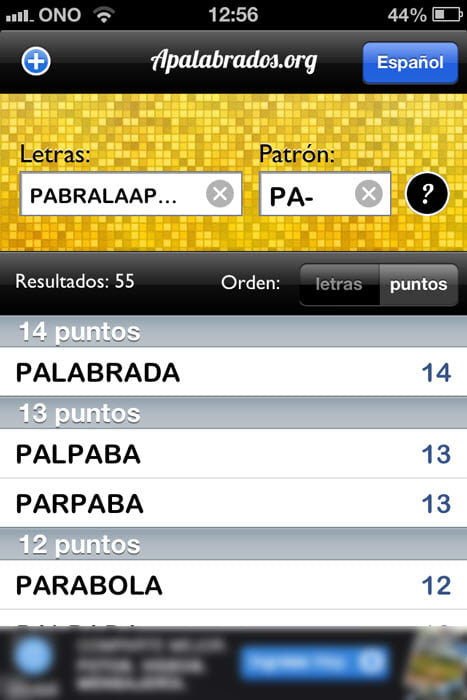 Apalabrados.org