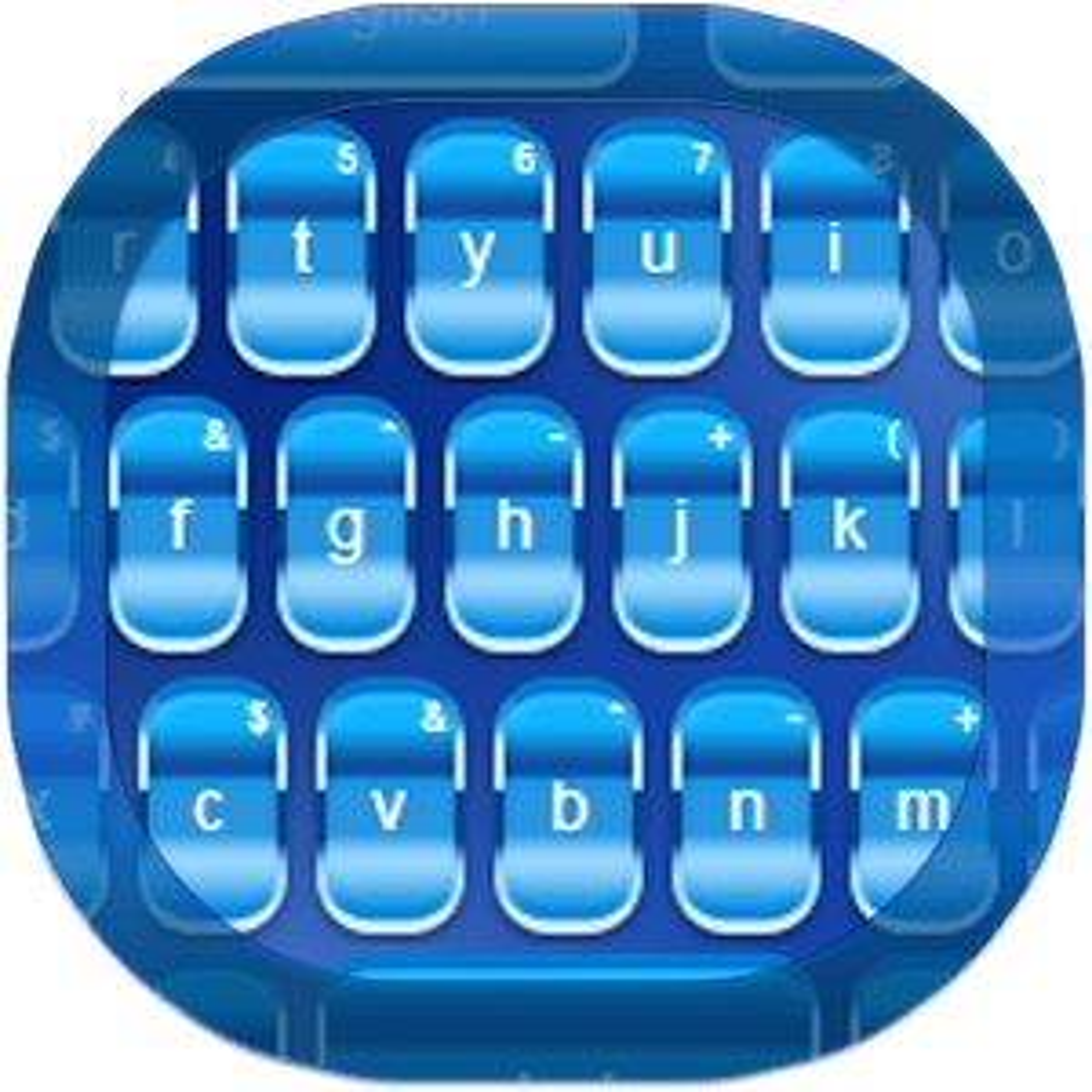Teclado azul para Android 1.73.16.26