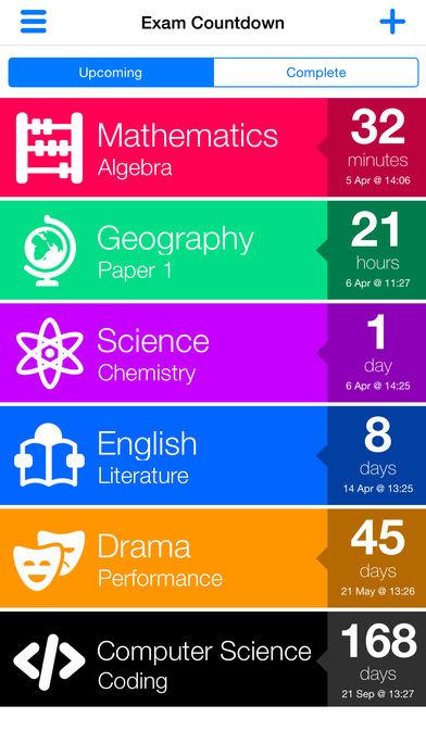 Exam Countdown