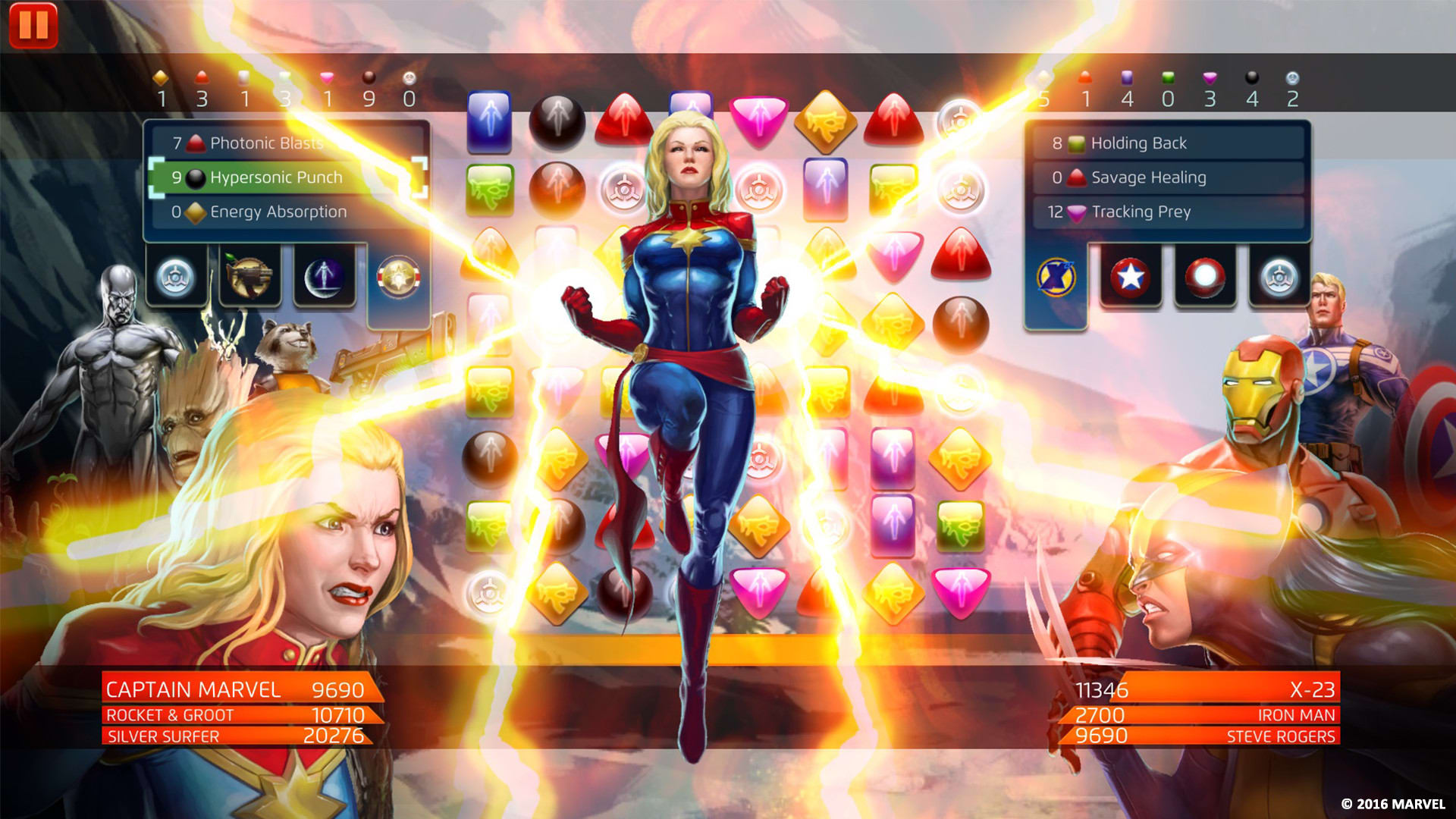 Marvel Ultimate Alliance Building Your Team