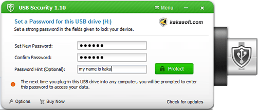 Kakasoft USB Security