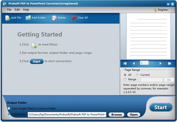 iPubsoft PDF to PowerPoint Converter