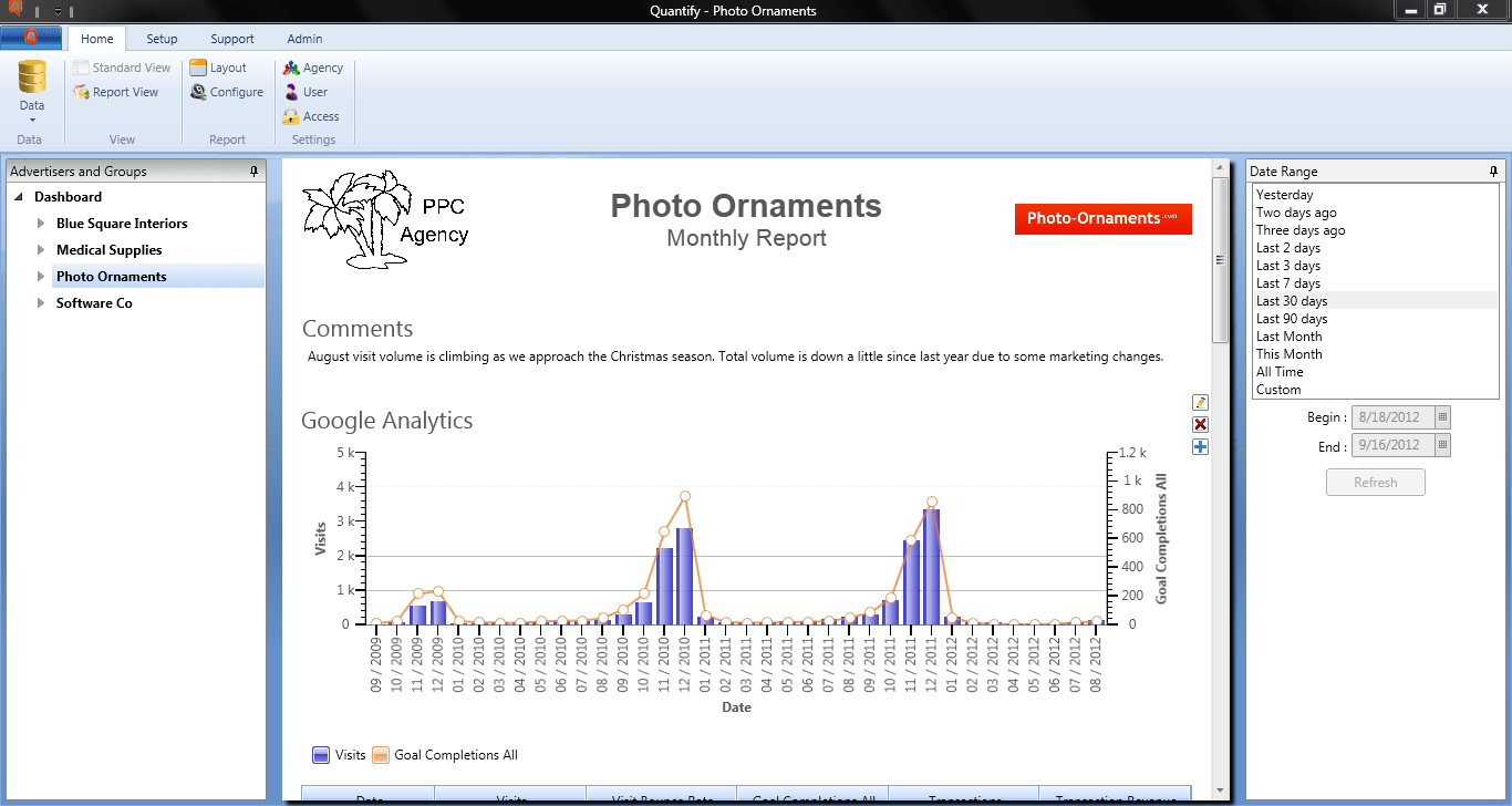 Quantify Desktop