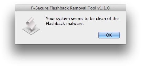 F-Secure Flashback Removal Tool