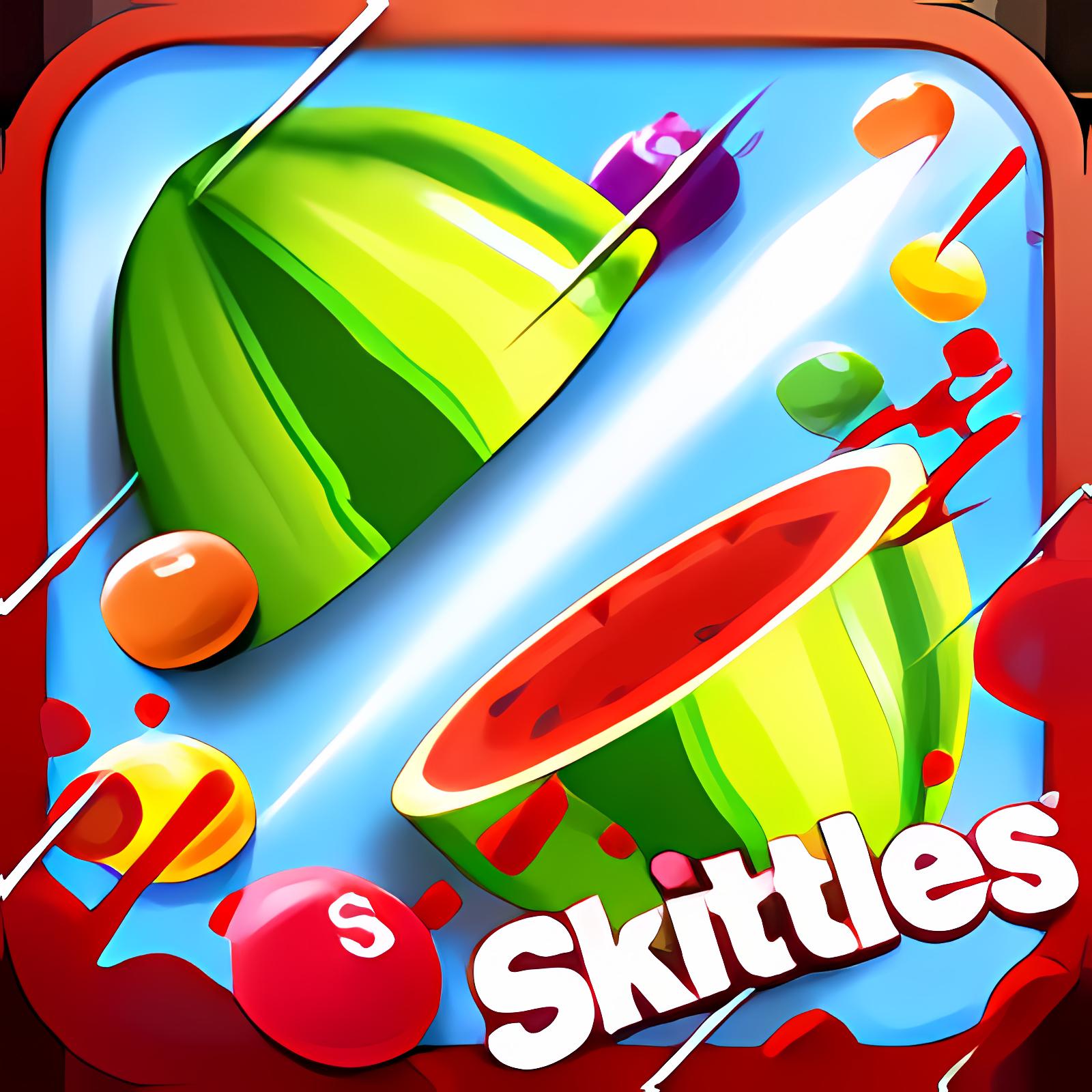 Fruit Ninja vs Skittles 1.0.1